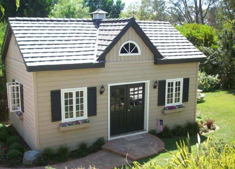 Kepler Creek Cabin -Rancho Santa Fe, California is 16ft x24ft