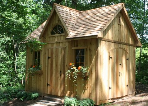 David's 10' x 14' Copper Creek shed