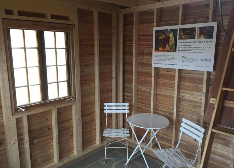 Glen Echo Bunkie Cabin - Interior