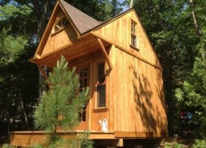 Western Red Cedar Bunkie Exterior