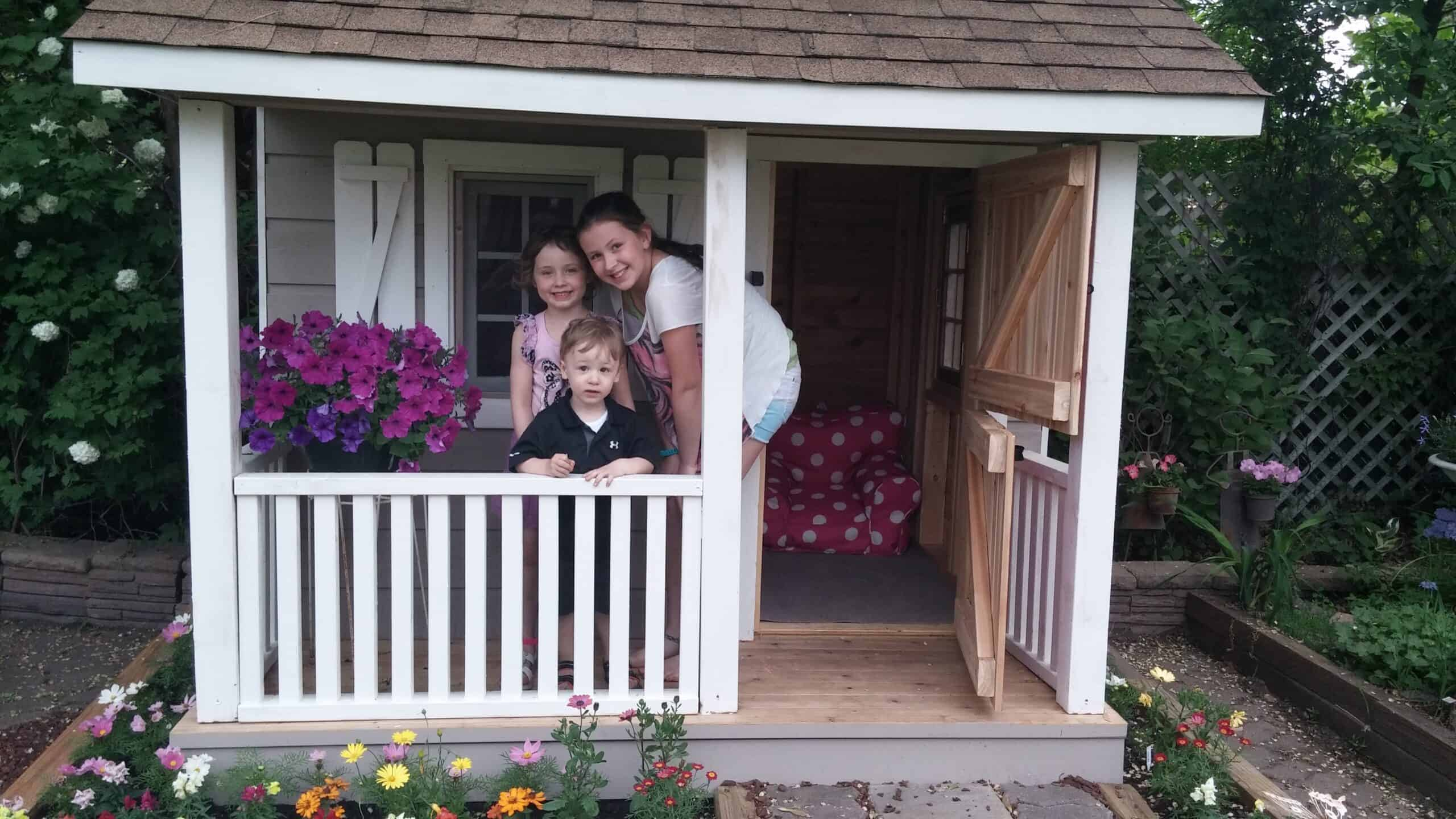 Construct The Best Playhouse On The Block - Summerwood Products
