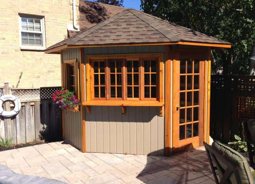 Catalina 5 Sided Shed - Summerwood Products