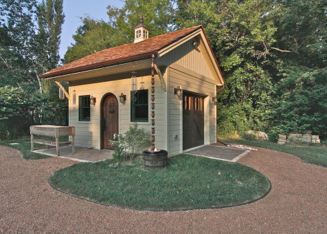 Glen Echo Garden Shed - Summerwood Products