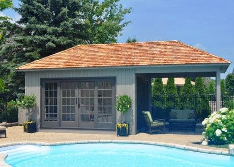 Sonoma Pool House - Summerwood Products
