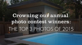 Top 3 Photo Winners of 2015 - Summerwood Products