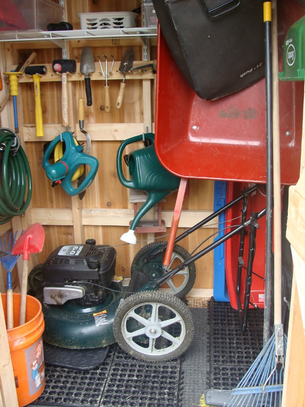 Interior - Garden Shed - Summerwood Products
