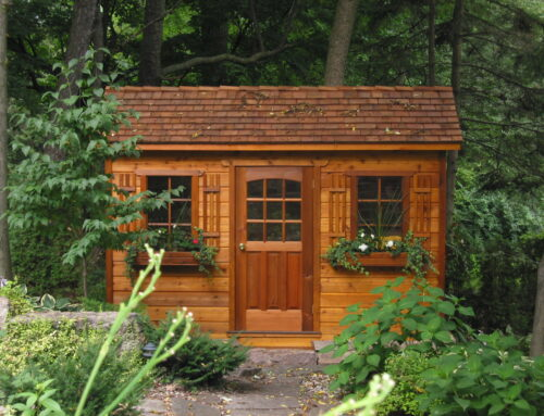 Ben And Mary's DIY Backyard Shed Installation
