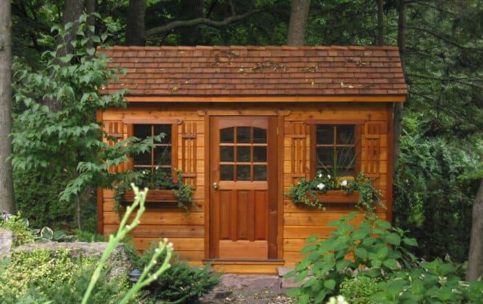 Backyard Shed Installation - Summerwood Products