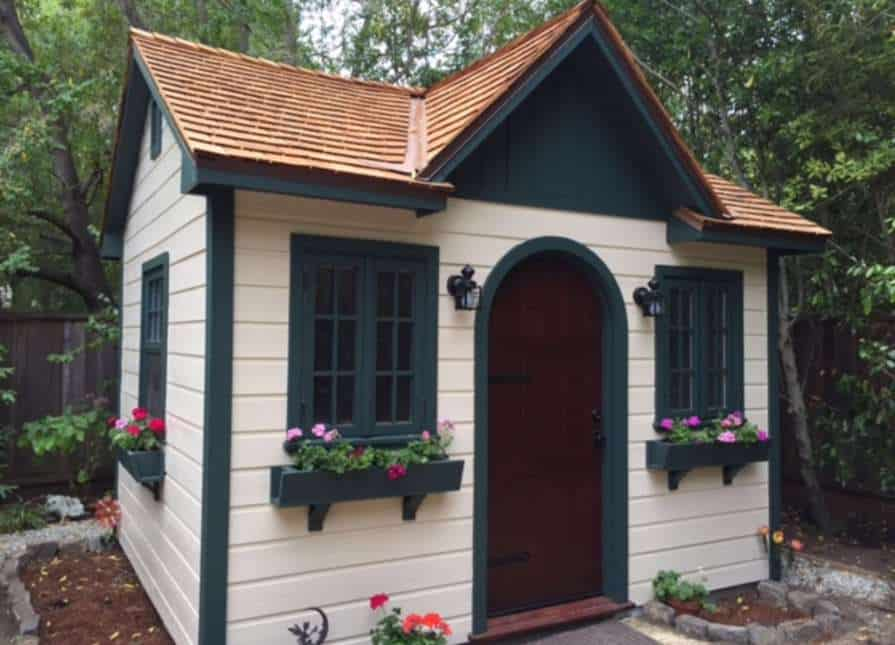 Palmerston Shed PreFab Garden Sheds - Summerwood Products