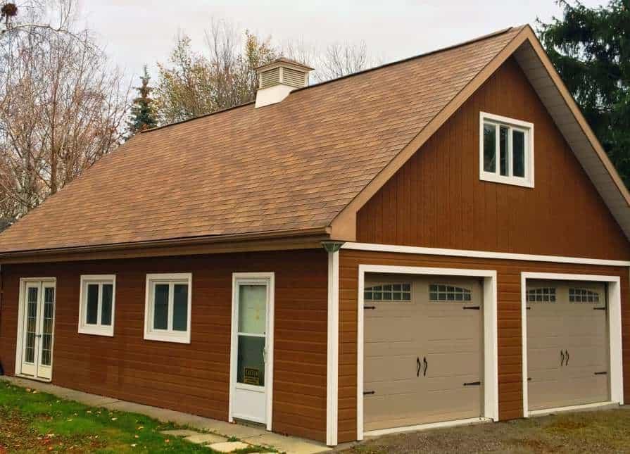 Alpine Garage Roofing - Summerwood Products