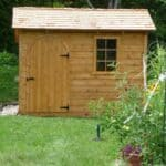 Bar Harbor Garden Shed - Summerwood Products