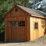 12' x 22' Highlands garage Workshop - Summerwood Products