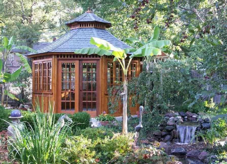 Spa Enclosure Location - Summerwood Products Spa & Hot Tub Enclosure