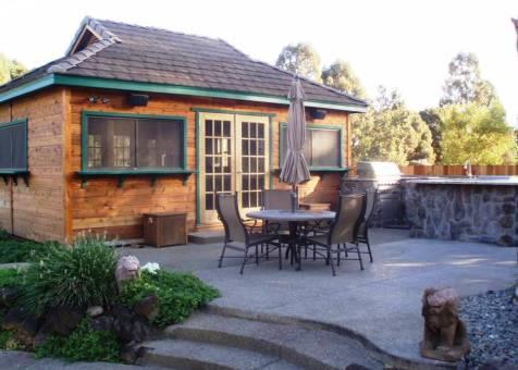 Santa Cruz Pool Cabanas - Summerwood Products