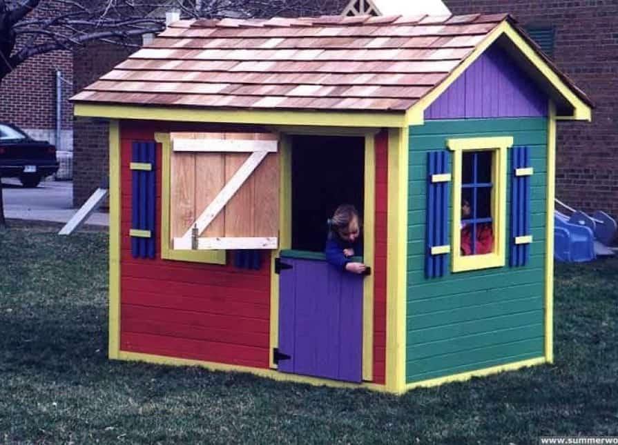 Bear Club Playhouse - Design Ideas - Summerwood Products