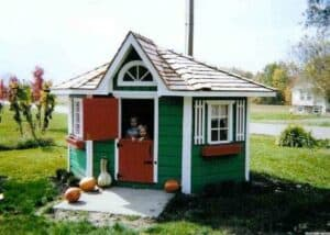 Petite Pentagon Playhouse - Summerwood Products