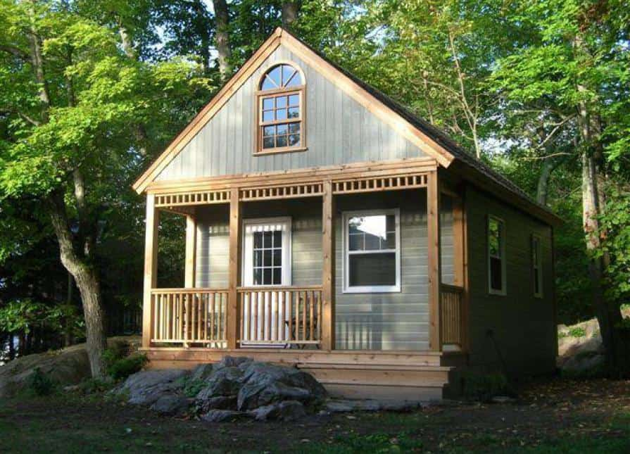 16' x 24' Cheyenne Cabin | Cottage Cabin Kit - Summerwood Products