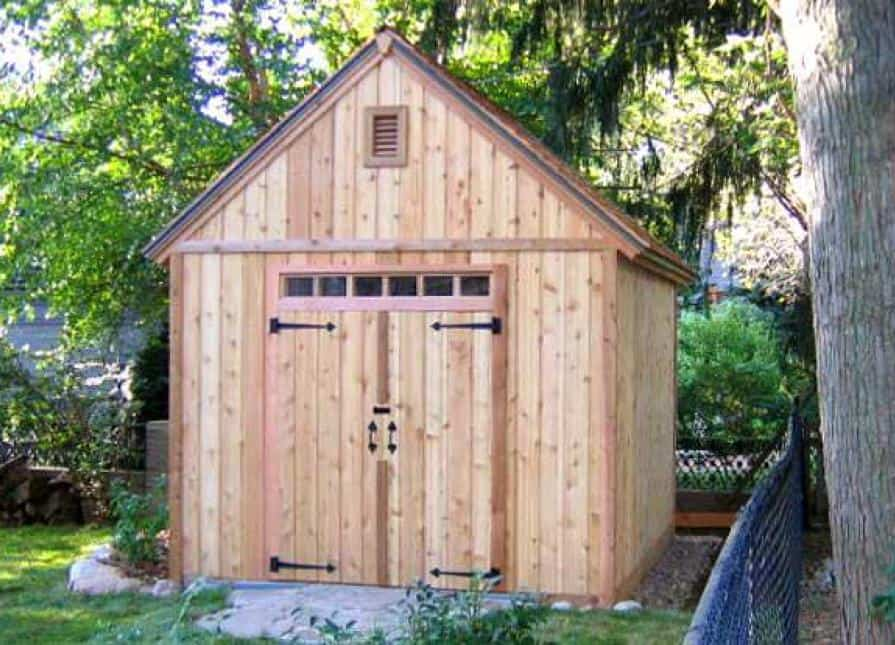 Home Design - 10ft. x 12ft. Telluride - Summerwood Products