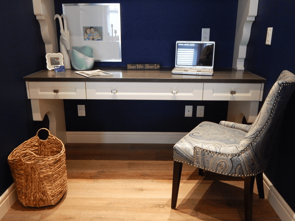Hiding Cords - Home Office Design Tips for Summerwood Products
