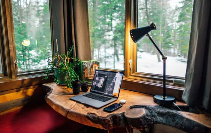 Home Office Design Tips | Allowing Light | Summerwood Products
