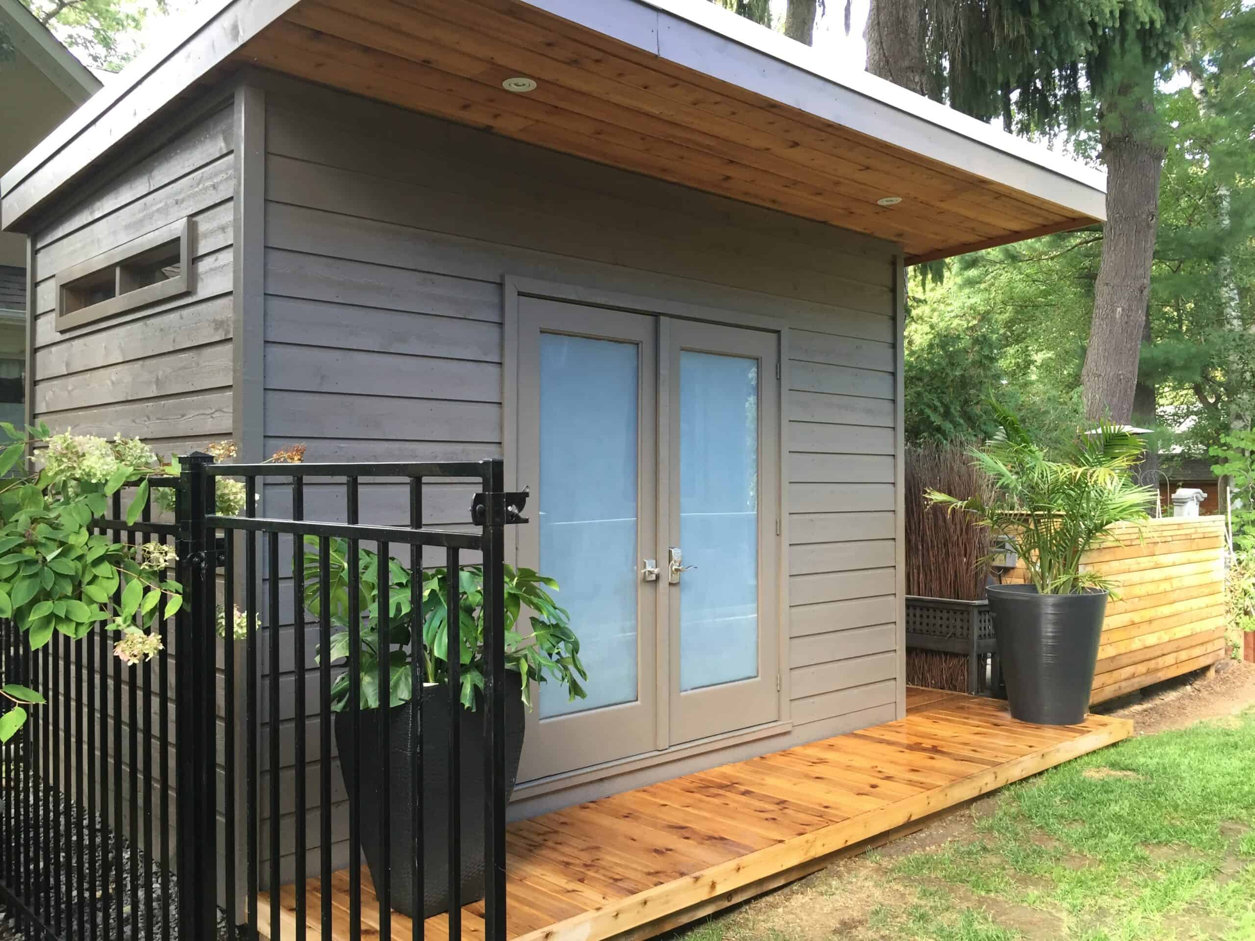 example of modern shed designs