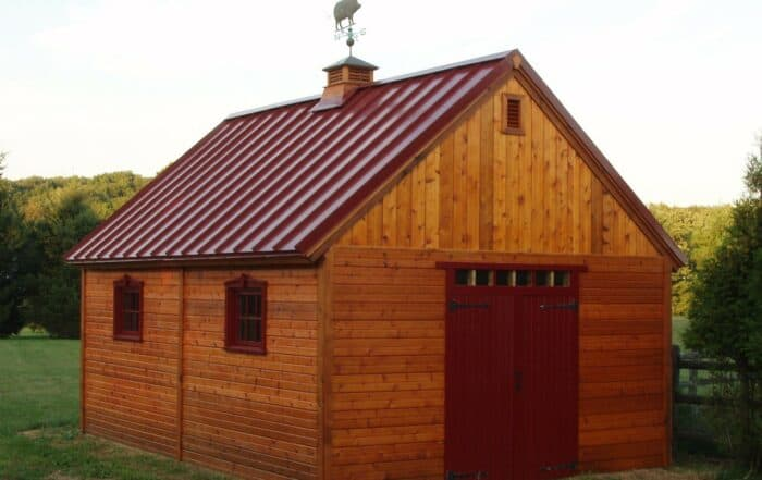 Choosing the Right Roof for Your Garage, Shed, or Cabin - Summerwood Products