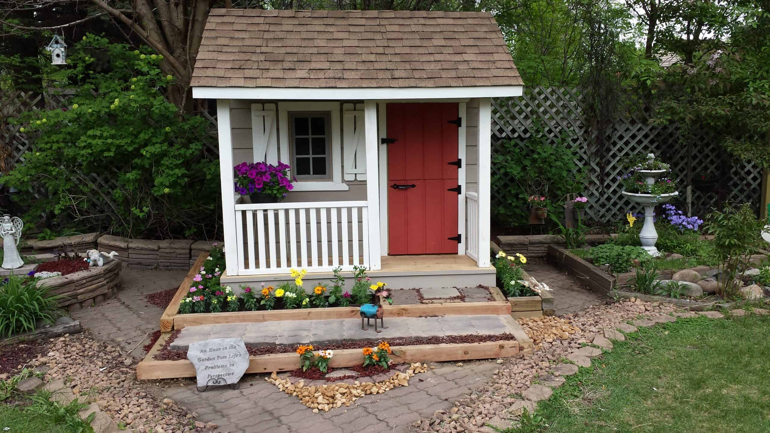 playhouse for the kids - Summerwood Products