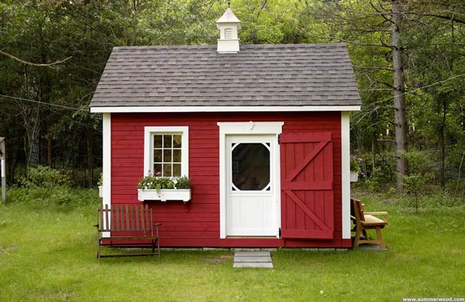 How-To Choose an Attractive Color Scheme for Your Shed