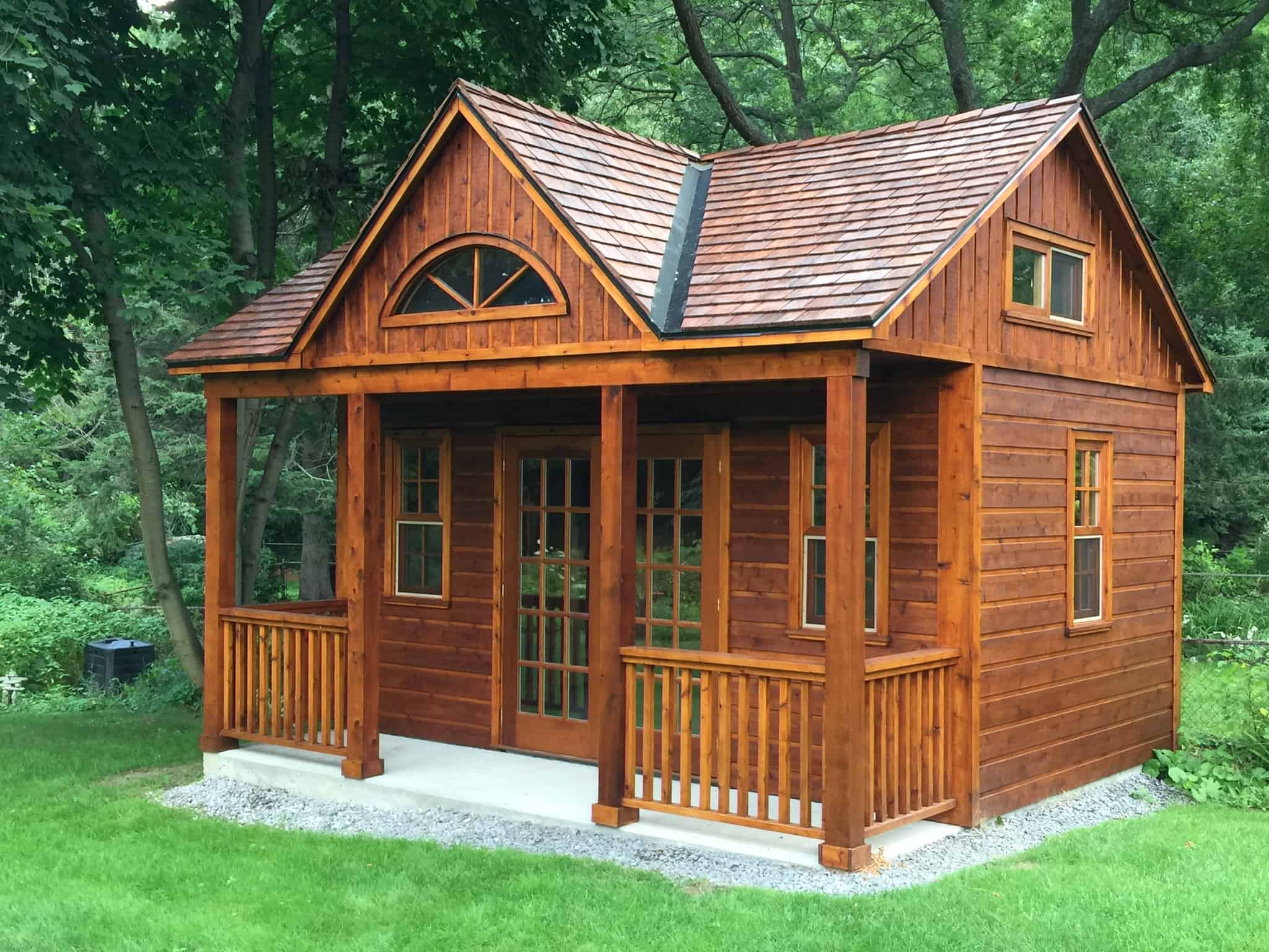 How to Choose Siding for Small Structures