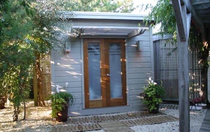 modern shed color schemes